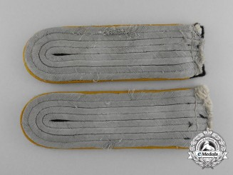 Germany, SS. A Pair of Waffen-SS Cavalry Shoulder Boards