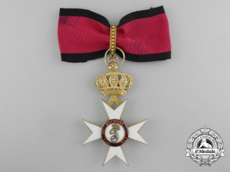 Württemberg. An Order of the Crown in Gold, I Class Commander, by Eduard Foehr, c.1915