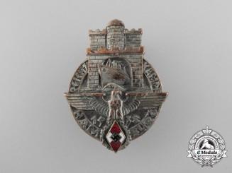 A HJ National Trade Competition Badge Hamburg 1938