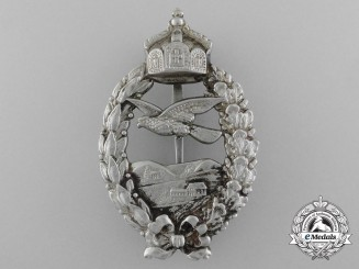 A First War Prussian Pilot's Commemorative Badge, by Meybauer