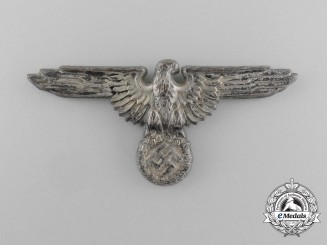 A Waffen-SS Visor Cap Eagle by Ferdinand Wagner