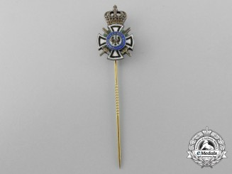 A Prussian House Order of Hohenzollern, Miniature Stickpin
