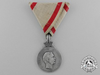 A Scarce 1862 Montengro Heroism Medal by V. Mayer