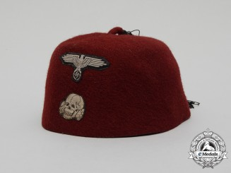 "A 13th Waffen-SS Mountain Division Handschar ""Fez"" Cap"