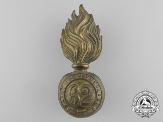 A 62nd Battalion Saint John Fusiliers Cap Badge, Pre-1908 Design