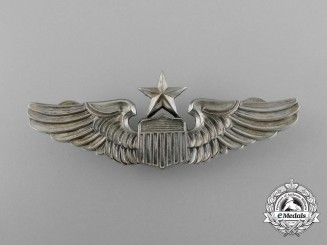 An American Army Air Force Senior Pilot Badge