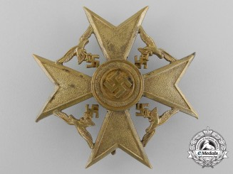 Germany, Third Reich. A Spanish Cross without Swords, Bronze Grade