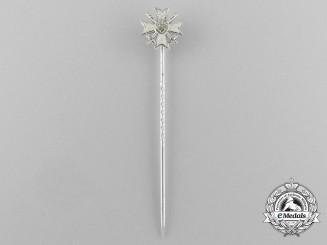 A War Merit Cross 1st Class with Swords Miniature Stick Pin