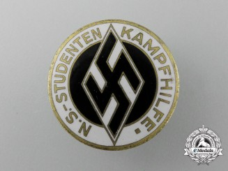 "A Student's Federation ""Kampfhilfe"" Aid Badge"