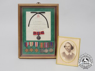 A Second War Group to Lieutenant (Nursing Sister) Margaret Daphne Taylor; RCAMC