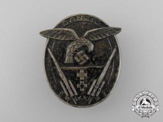 A Rare Danzig Flak Badge