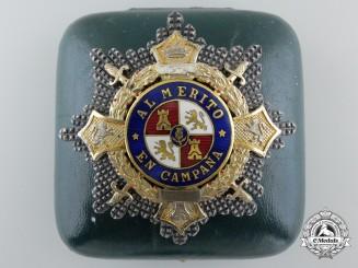 A Franco Period War Cross; Breast Star