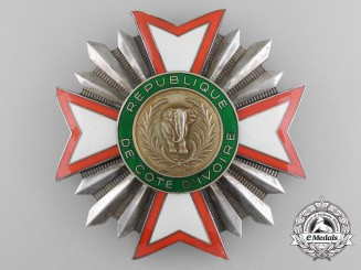 Ivory Coast, Republic. A National Order of the Republic, Grand Cross Star , c.1960
