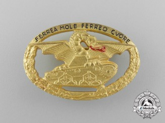 A Second War Italian Commander's Tank Badge