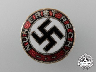 """An Early  """"Now More Than Ever"""" NSDAP Party Member Badge"""