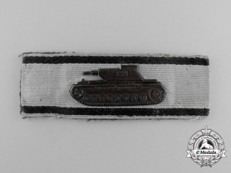 A Fine Badge for Single-Handed Tank Destruction; Silver Grade