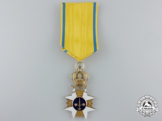 A Napoleonic Period Swedish Order of the Sword in Gold
