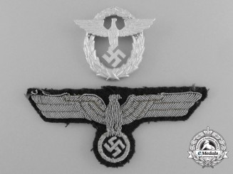 A Lot of Two German Second War Period Insignia