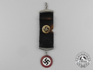 A NSDAP Supporter's/Member's Watch Fob