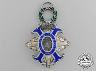 A Spanish Order of Civil Merit; Knight's Cross (1942-1975)