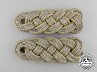 Germany, Waffen-SS. A Set of Major General Shoulder Boards