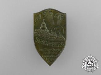 A 1931 NSDAP Sonneberg Rally Badge