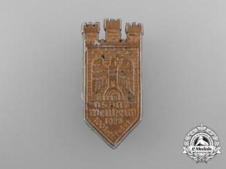 A 1938 NSDAP 700-Year Anniversary Weilheim District Council Day Badge