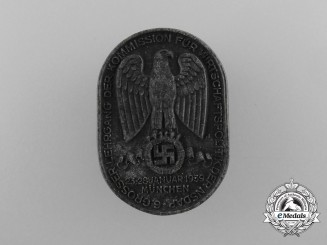 A 1939 Badge for the 6th Convocation of the School for Economic Policy of Munich