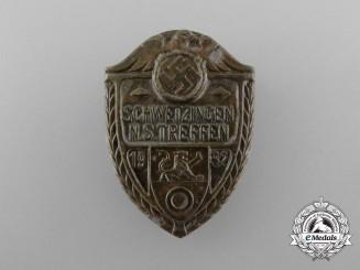A 1932 Schwetzingen National Socialists Meeting Badge