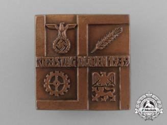 A 1939 Düren District Council Day Badge