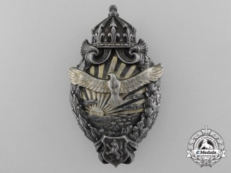 A Rare Royal Bulgarian First War Pilot's Badge