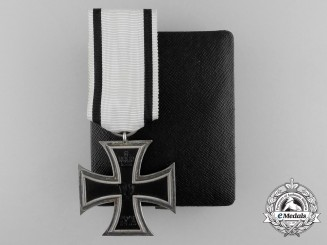 A Non-Combatant Iron Cross Second Class 1914 with Case