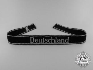 Germany, Waffen-SS. A Deutschland EM/NCO's Cufftitle