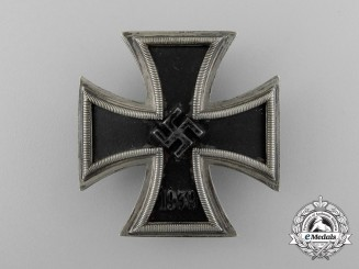 An Iron Cross 1939 First Class by C.F Zimmermann of Pforzheim