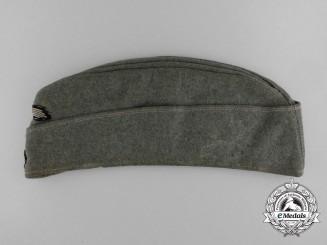 """A 2nd Pattern M40 Waffen-SS EM/NCO's """"Schiffchen"""" Overseas Cap"""