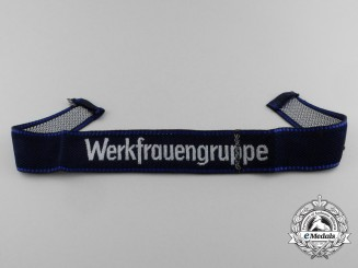 A Mint NSV & DAF Werkfrauengruppe/Female Labourer's Group Cuff Title
