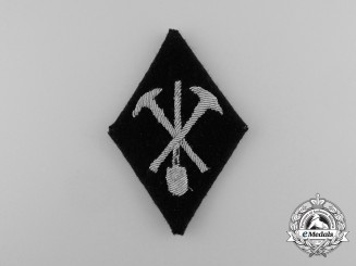 A Scarce Waffen-SS Technical Training Company Sleeve Diamond