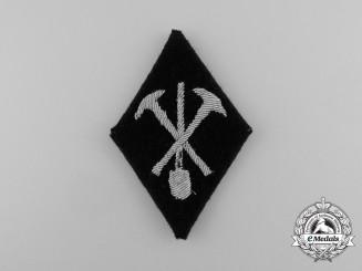 A Scarce Waffen-SS Technical Training Company Sleeve Diamond