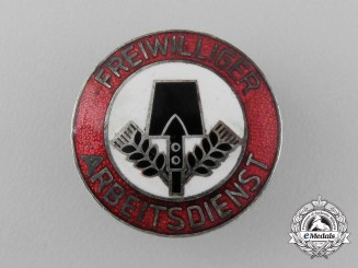 A FAD (Voluntary Labour Force) Membership Lapel Badge by K. Hensler of Pforzheim