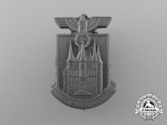 A 1939 Frankenberg District Council Day Badge