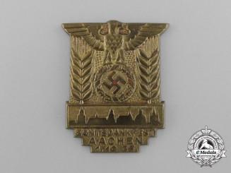 A 1933 Aachen Harvest Festival Badge