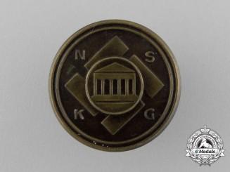 A Second War (NSKG) German National Socialist Cultural Community Badge by C. Poellath