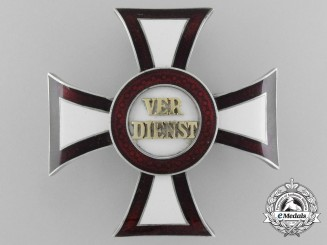 An Austrian Military Merit Cross; 1st Class Cross Second Period (1914-1918)