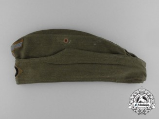 An Army (Heer) Enlisted Man's/NCO's Tropical  Overseas Side Cap