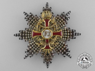 An Austrian Order of Franz Joseph; Commander's Breast Star Type I c.1855