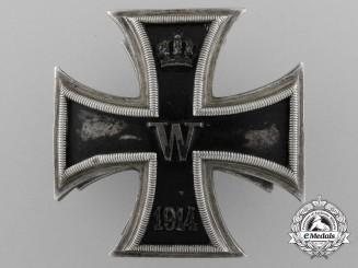A Fine Iron Cross 1st Class 1914 Screwback by Paul Meybauer, Berlin