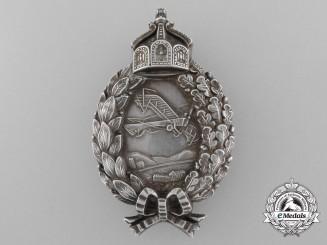 A First War Prussian Pilot's Badge by Carl Dilenius, Pforzheim