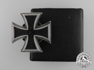 An Iron Cross First Class 1939 with LDO Case by C.F. Zimmermann