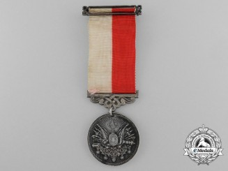 An Ottoman Empire Medal of Merit (Sanayi)