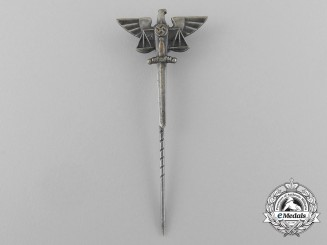 A Scarce Third Reich Period Justice Department Stick Pin by Klotz & Kienast